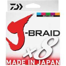 Trenzado Daiwa J Braid X 8 Multicolor -150m 12755022