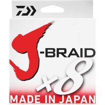 Tresse Daiwa J Braid X 8 Vert- 300m 35/100