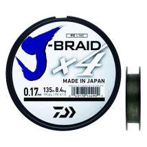 Tresse Daiwa J Braid X4b Vert - 270m 10/100