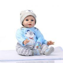 NPKDOLL Reborn Baby Doll Soft Silicone Vinyl Baby Boy