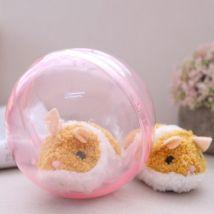 Electric Smart Running Hamster Stuffed Plush Animal Toy