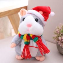 Electric Smart Little Talking Hamster Record Repeat