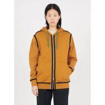 cotton hoodie converse brown