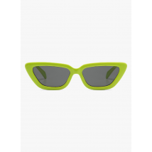 tinted butterfly sunglasses komono lime