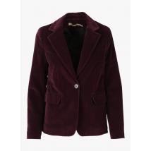 velvet jacket with tailored collar