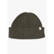 wool beanie selected forest night