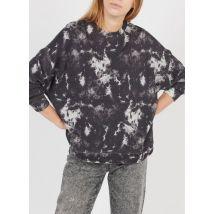 printed round-neck cotton sweatshirt whistles