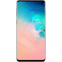 Samsung Galaxy S10 128GB Prism White at £29.99 on Pay Monthly 2GB (24 Month contract) with Unlimited mins & texts; 2GB of 4G data. £36.99 a month.
