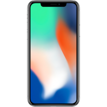 Apple iPhone X 64GB Silver Refurbished (Grade A) for £699 SIM Free