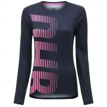 dhb MTB Womens Long Sleeve Trail Jersey  - Navy/Pink  - UK 14