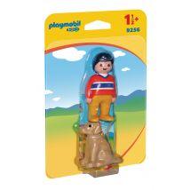 Garçon avec chien - Playmobil - PLAYMOBIL 1.2.3 - 9256