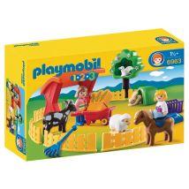 Parc animalier - Playmobil - PLAYMOBIL 1.2.3 - 6963