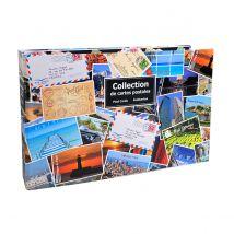 Classeur de collection pour cartes postales - 44x26,5 cm - imprimé pelliculé brillant