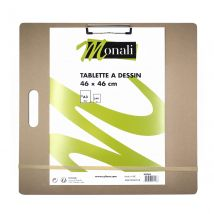 Tablette De Support Pour La Pratique Du Dessin - 46x46 Cm - Monali - Monali