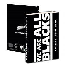 Agenda journalier 2018/2019 - All Blacks - La Plume Dorée