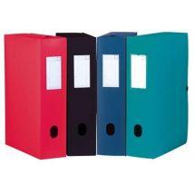 Boîte classeur opaque Menphis - dos 60 mm