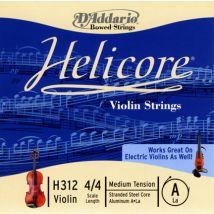 D'Addario - Corde Helicore pour violon - H312-4-4M
