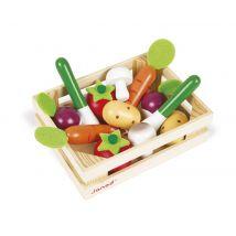 Cagette de 12 légumes Bois