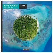 Calendrier 2019 - Planète bleue - 16,5 x 16,5 cm