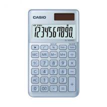 Calculatrice De Poche - Sl-1000sc - Bleu Glacé - Casio