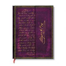 Carnet - 18 x 23 cm - Ligné - Manuscrit Edgard Allan Poe - Paperblanks
