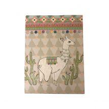 Bloc-notes - 7,5x10 cm - Lama - Collection Exclusive Cultura