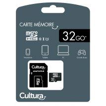 Carte Micro SDHC 32 Go Cultura