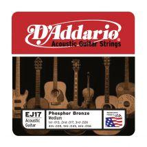 D'Addario - Jeu de cordes - EJ17 Medium 13-45