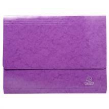 Chemise Poche Iderama 265g A4 - Violet - Exacompta