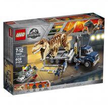 Le transport du T. rex - LEGO Jurassic World - 75933