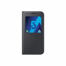 Etui à rabat avec zone transparente - noir - Samsung - Galaxy A5/A520 2017