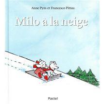 Milo à la neige