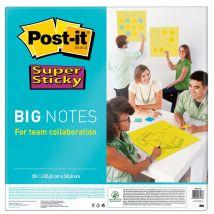 Big Notes Super Sticky Post-it vert 55,8 cm x 55,8 cm