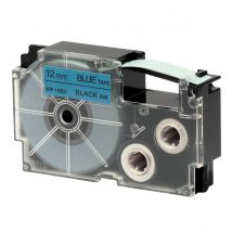 Ruban Adhésif Xr-12bu1-w-dj - Noir Sur Bleu - 12 Mm - Casio