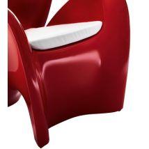 MyYour Coussin d'assise / Pour fauteuil Lily - MyYour blanc en tissu