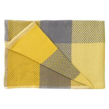 Plaid Loom /130 x 180 cm - Muuto jaune en tissu