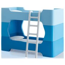 Bunky Bunk beds - With ladder - Without mattress by Magis Collection Me Too Blue
