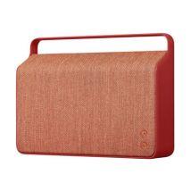 Vifa Enceinte Bluetooth Copenhague / Sans fil - Tissu & poignée alu - Vifa rouge en tissu