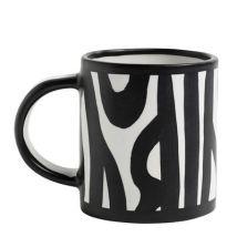 Hay Mug Wood / Dipinto a mano - Hay blanc en céramique