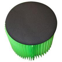 Vange Coussin d'assise / Pour pouf K-Baby - Vange Ø 56 cm noir en matière plastique