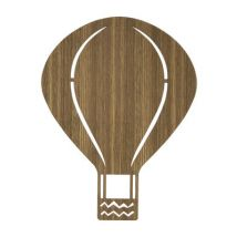 Air Balloon Wall light with plug by Ferm Living Dark wood
