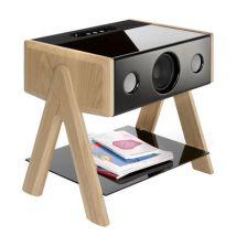 La Boîte Concept Enceinte Bluetooth Cube / Thruster 2.1 - La Boîte Concept chêne en bois
