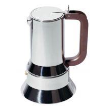 Alessi Cafetière italienne 9090 / 3 à 6 tasses - Alessi marron en métal