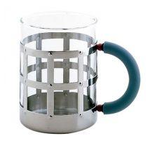 Mug by Alessi Polished steel