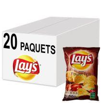 Biscuits apéritif - chips lay's saveur poulet rôti 45g - 20 paquets