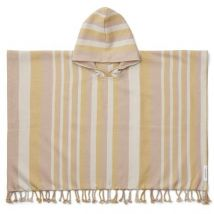 Liewood - Roomie strandponcho - Y/D stripe: Peach/sandy/yellow mellow 1-2 jaar