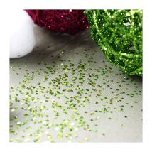 Paillettes de table vertes