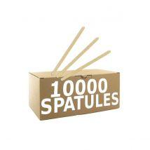 Touillette (spatule) en bois biodégradable compostable 140 mm - par 10000
