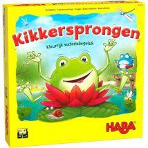 Haba - Plezant dobbelspel - Kikkersprongen Nederlandstalige titel