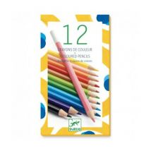 DJECO - Knappe set van 12 kleurpotloden